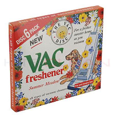 2 X Summer MeadowVac Freshener, 6 per Pack. For All Vacuum Cleaner