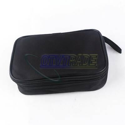 Double Layer Zipper Carrying Case Fits Fluke 115 116 117 175 705 707 15b 17b 18b