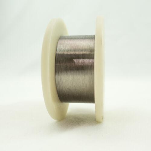 """Tungsten Fine Wire, 0.0005"""" Diameter, 500m/Spool"""