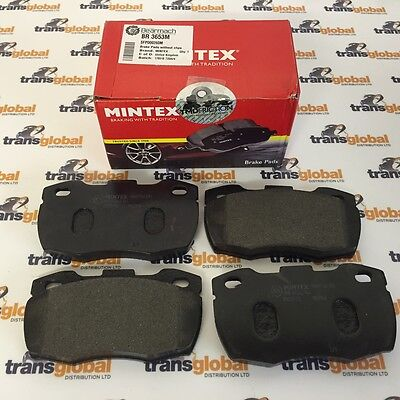 Front Brake Pads for Land Rover Defender 90 110 130 300tdi (91 On) MINTEX