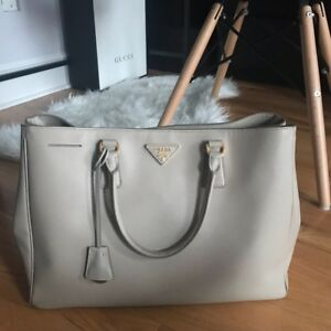Authentic Prada Saffiano Lux Tote