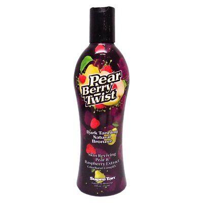 Tan Berry (Supre Tan Pear Berry Twist Dark Tanning Sunbed Bronzer Lotion Cream 235ml Bottle)