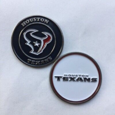 New NFL Houston Texans Golf Ball Marker + Free Bonus