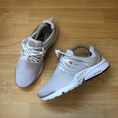 Nike Air Presto Essential Uk 6 848132-100 Mens Sneakers Running Trainers Used