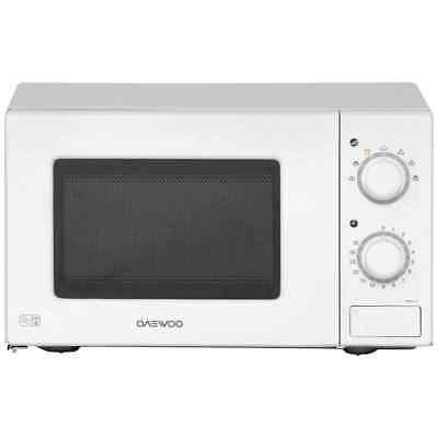 Daewoo KOR6L77 700 Watt Microwave Free Standing White New from AO