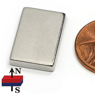 20 Pc N52 Super Strong Bar Neodymium Magnets 34x12x18 Rare Earth Magnets