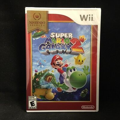 Super Mario Galaxy 2 (nintendo Wii, 2010) Brand