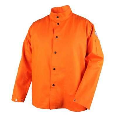 Black Stallion Fo9-30c Truguard 200 Fr Cotton Welding Jacket Orange Medium