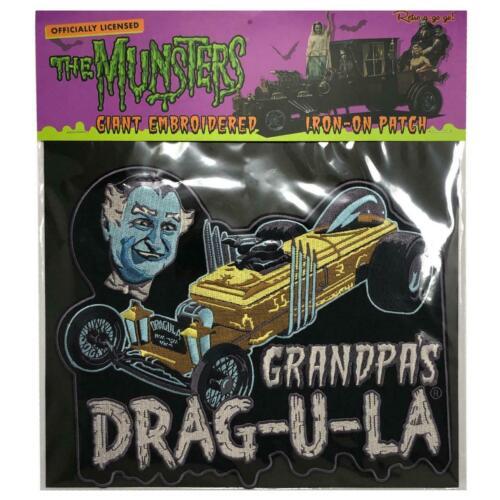 DRAG-U-LA Embroidered BACK PATCH - Retro-a-go-go The Munsters Grandpa