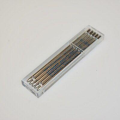 5 - Schmidt D1, Mini Ball Pen,EASY FLOW 6000, Ballpoint Pen Refill, Blue  Medium Mini Ball Pen Refill