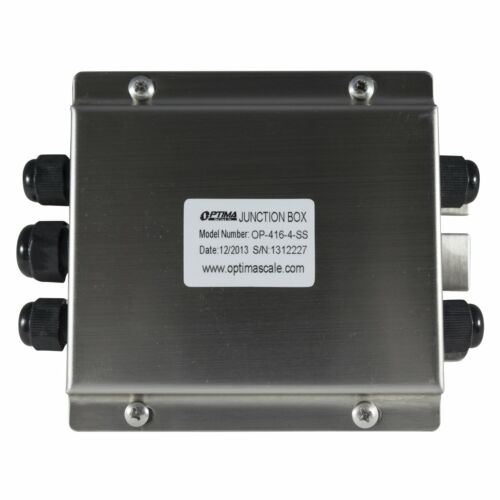 Selleton Op-416 Junction Box Stainless Steel ( All Sizes ) With Load Cells