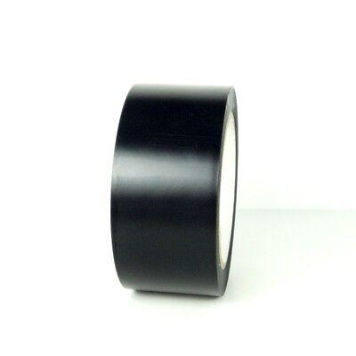 1 Roll Vinyl Tape - Black - 2 48mm X 108 Ft
