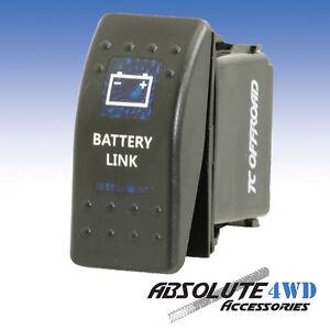 *Battery Link* Rocker Switch Blue - ARB Carling LED 12v Landcruiser Patrol 4x4