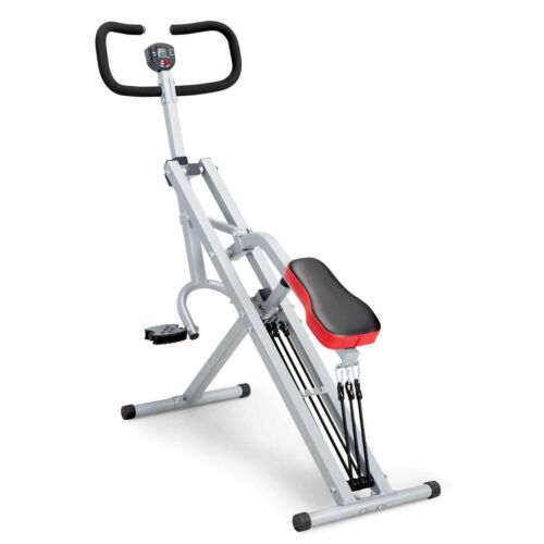 Squat Rider Machine By Marcy XJ-6334 Glutes & Quad Workout Resistance Band Form