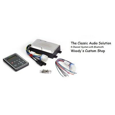 Hidden Secret Audio System Classic Car Glove Box Stereo Bluetooth iPod iPhone