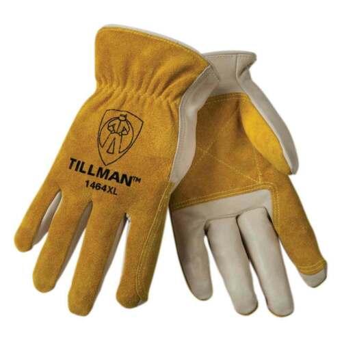 Tillman 1464 Top Grain Cowhide Split Palm Drivers Gloves Various Size SM-XXLarge