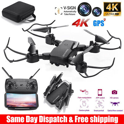 Mini Drone Selfie WIFI FPV With HD Camera Foldable Arm RC Quadcopter Toy US New