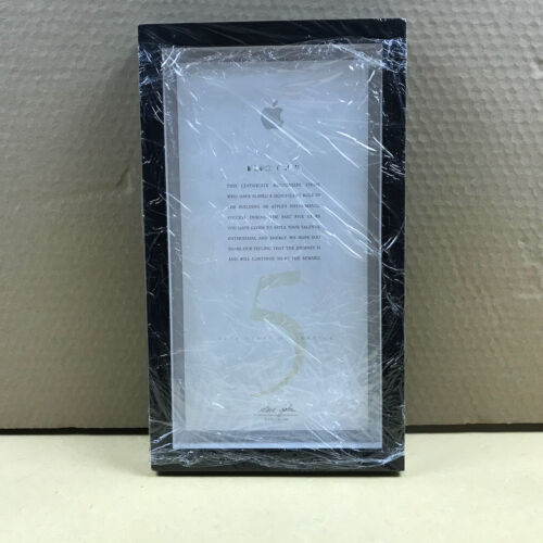 Apple 5 Year Service Award - in BOX - with Steve Jobs text * from Apple Computer