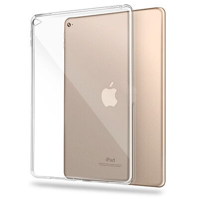 TPU Silikon Case für Apple iPad Air 2 Transparent Klar Crystal Cover Schutzhülle Apple Ipad 2 Silikon