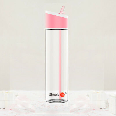 21oz / 621ml SimpleHH Sports Beverage Water Bottle with Flip Cap/Straw