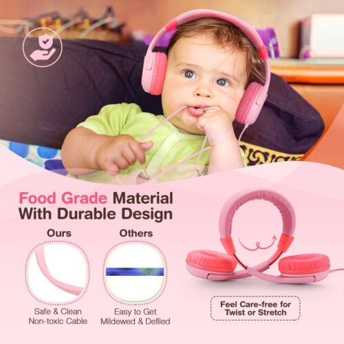Mpow Noise Cancelling 85db Max Headphones Headsets For Kids