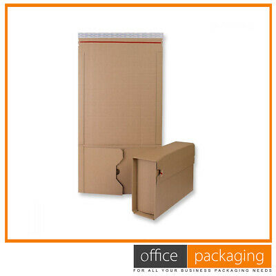 Premium Book Wrap - Bukwrap Mailer Postal Boxes 270x190x80mm Pack of 1000