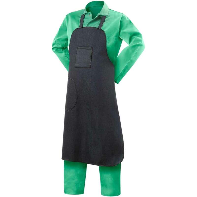 "Steiner 02940 29""W X 40""L 9oz. Cotton Denim Apron"