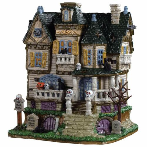 Lemax Spooky Town The Haunted Knoll Light Up House 2019 New