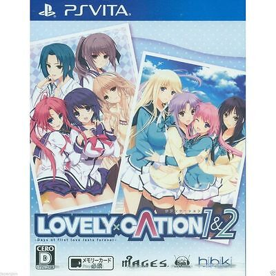 Used PS Vita Lovely x Cation 1&2 SONY PLAYSTATION JAPANESE IMPORT