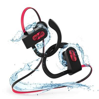 MPOW Bluetooth Headphones Best Running Sports Workout Stereo Wireless Earbuds
