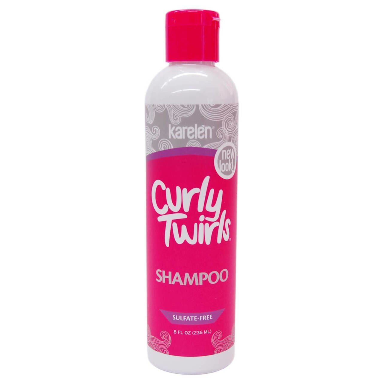 Curly Twirls Sulfate-free Shampoo for Curly Hair 8 oz