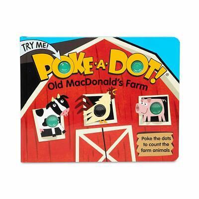 Melissa & Doug Children's Book - Poke-A-Dot: Old Macdonald'S Farm (Board Book  ()
