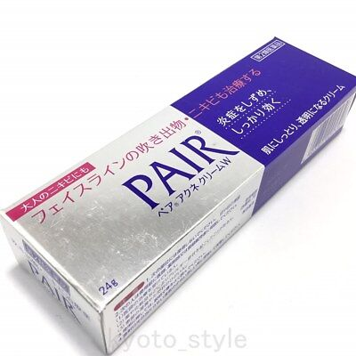 Lion Pair Acne cream W 24g Medicated Treatment Cream for Acne Care JAPAN