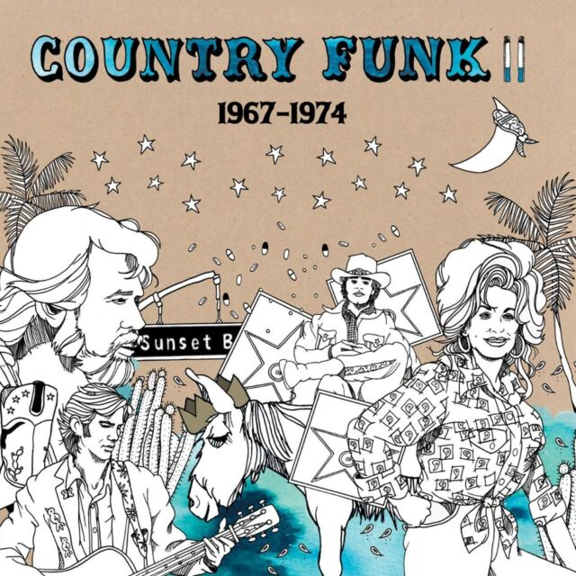 COUNTRY FUNK VOL.2 1967-1974  CD NEU