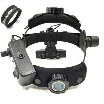 Binocular Indirect Opjhthalmoscope With 20 D Lens Case With Accessories