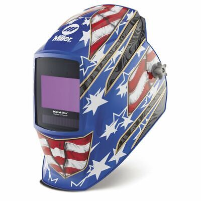 Miller 281002 Digital Elite Welding Helmet Stars Stripes Iii