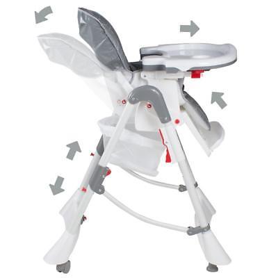 Froggy® Kinderstuhl Hochstuhl Babystuhl Verstellbar klappbar 3 Sitzpositionen