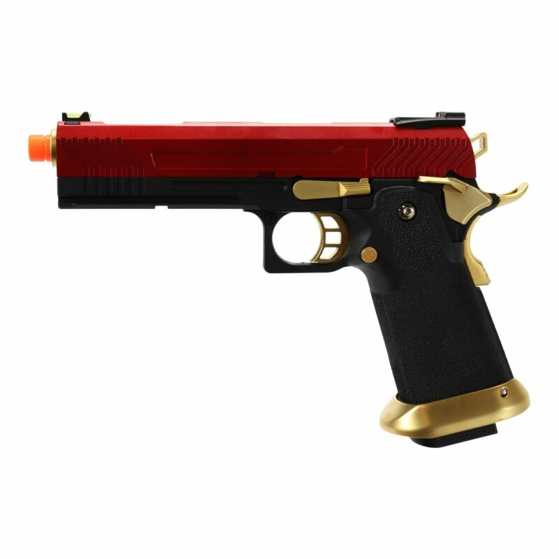 AW Custom Hi-Capa Competition Grade Gas Blowback Airsoft Pistol