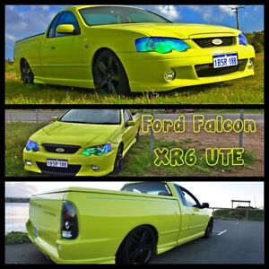 2004 MANUAL IMMACULATE XR6 BA UTE Perth Perth City Area Preview