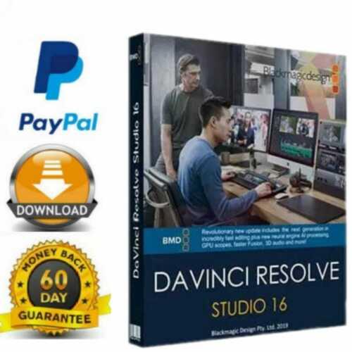 davinci resolve studio 16.2 full version for Windows 🔥 Fast Delivery