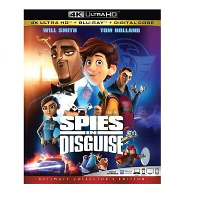 Spies in Disguise [4K Ultra HD Blu-ray] [2019]