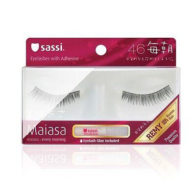 (4Pairs) SASSI Maiasa 100% Remy Human Hair BEST SELLER Eyelashes