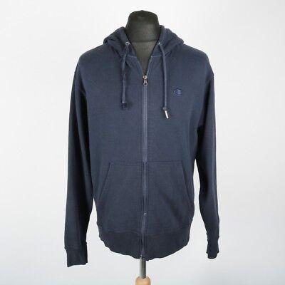 Details zu Vintage CHAMPION Full Zip Hoodie Sweatshirt   Mens M   Hoody Sweat Retro 90s