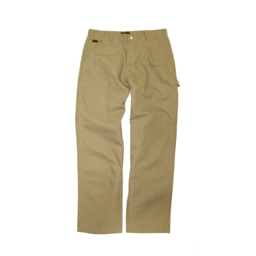 Rasco Fr Flame Resistant Khaki Carpenter Pants