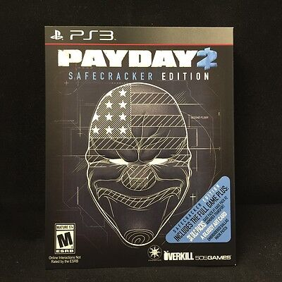 Payday 2  Safecracker Edition   Sony Playstation 3  2014