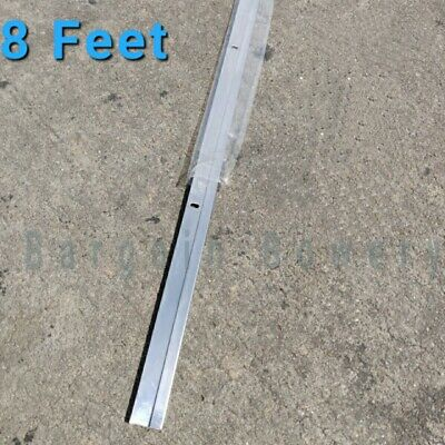 8 Ft 96 Stainless Steel End J Cap Strip For Stainless Steel Sheet16-24 Ga