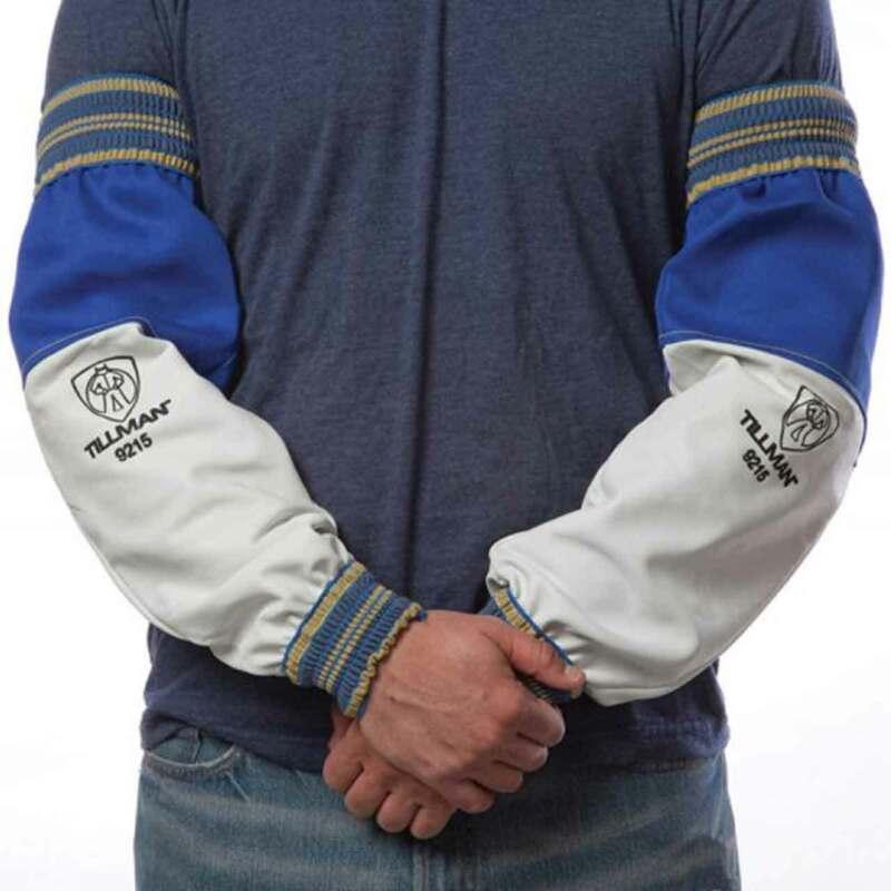 Tillman 9215 Top Grain Goatskin/Flame Retardant Westex Cotton Sleeves