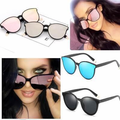 ACE Cateye Damen Sonnenbrille Retro Verspiegelt Vintage Blogger Trend Fashion