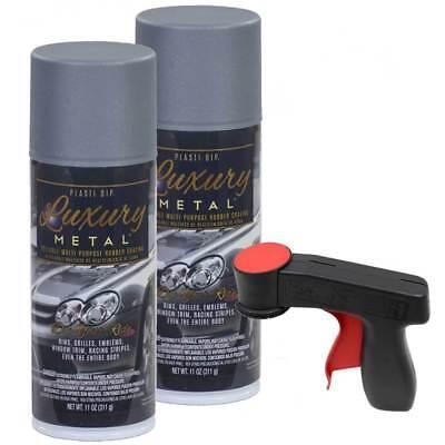 Plasti Dip Luxury Metal Spray Selenite Gray Metallic 2 Cans Cangun1 Trigger