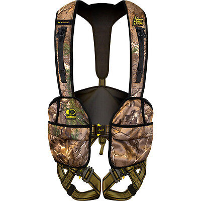 Hunter Safety System Harness Hybrid ElimiShield Realtree XL/ 2X-Large #69118 Hunter Safety Harness